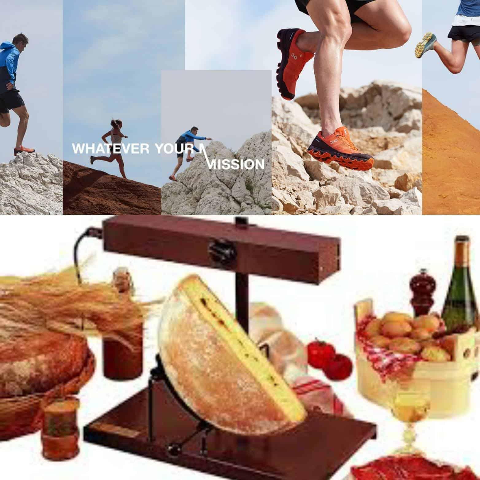 Laufschuhtest mit Raclette